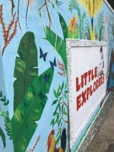 Little Explorers wall