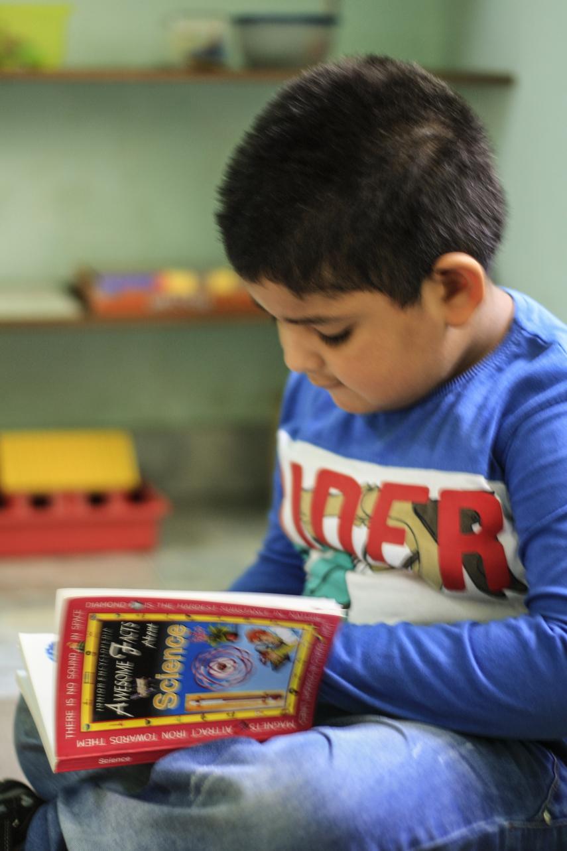 Kaveesha reading