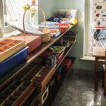 Montessori Class Lanuage shelf