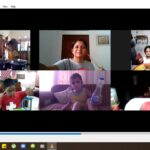 Playing Musical Instruments during zoom session