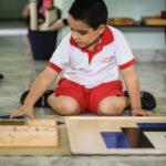 Skyler Sensorial Pythogaras board